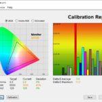 Test culori mod Eye Care ecran laptop ASUS ROG Strix G15 G513QY