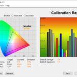 Test culori mod FPS ecran laptop ASUS ROG Strix G15 G513QY