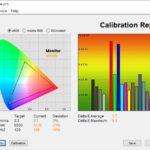 Test culori mod RTS-RPG ecran laptop ASUS ROG Strix G15 G513QY