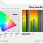 Test culori mod Scenery ecran laptop ASUS ROG Strix G15 G513QY