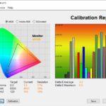 Test culori mod Vivid ecran laptop ASUS ROG Strix G15 G513QY