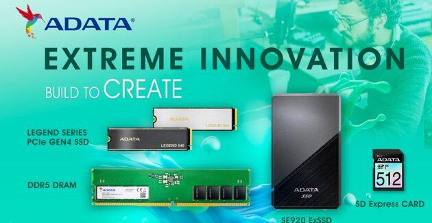 Xtreme Innovation ADATA Creator Products