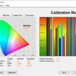 Test culori mod Dynamic televizor Hisense 55U8QF
