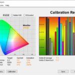 Test culori mod Sports televizor Hisense 55U8QF