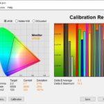 Test culori mod Standard televizor Hisense 55U8QF